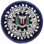 U.S.Federal Bureau Of Investigation Cloth Patch